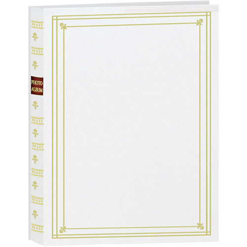 Pioneer Photo Albums Bi Directional Photo Album White Bp200w