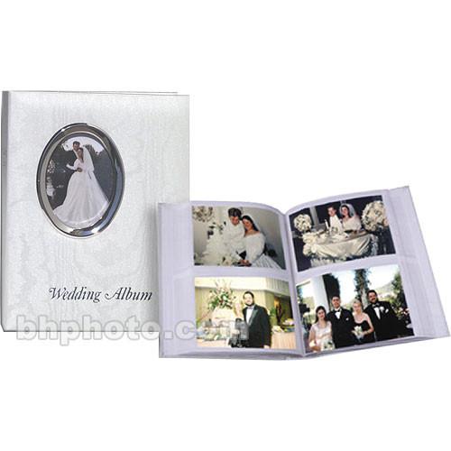 Pioneer Photo Albums Oval Framed Wedding Album Waf46 Bh Photo