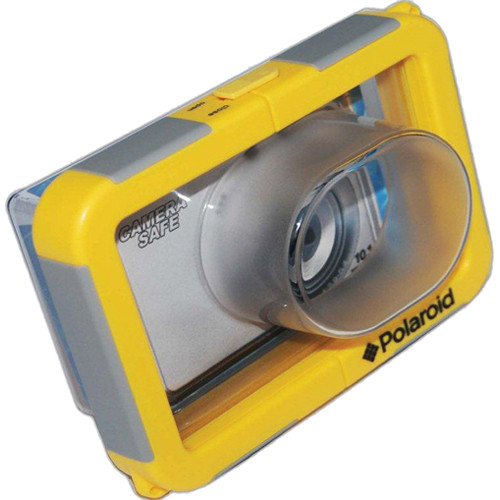 Polaroid Waterproof Camera Housing Zoom Lens Capable PLWPCK18
