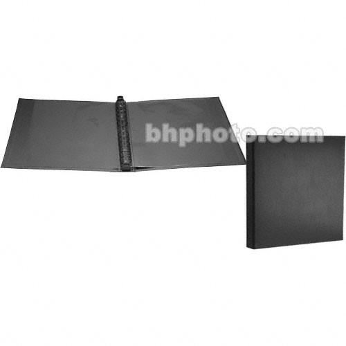 prat professional ring binder 11 x 14 black