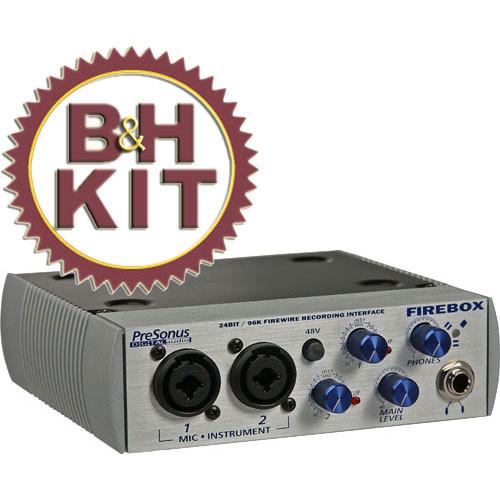 PreSonus FIREBOX Interface Aries Microphone BH Kit