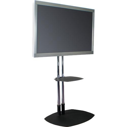 premier mounts psd ts60b flat panel floor stand black. Black Bedroom Furniture Sets. Home Design Ideas