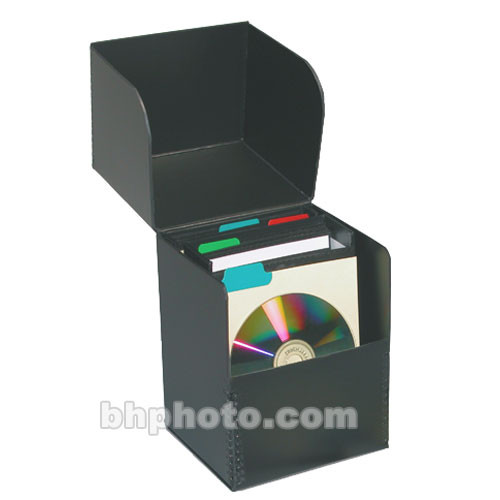 Print File CD-FLIPBOX Flip Top CD Storage Box  sc 1 st  Bu0026H & Print File CD-FLIPBOX Flip Top CD Storage Box 270-1010 Bu0026H Photo