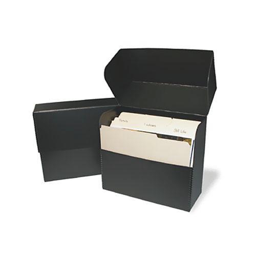 Print File DBLETTER Metal Edge Letter Size Document Storage Box (12 25 x  10 25 x 5
