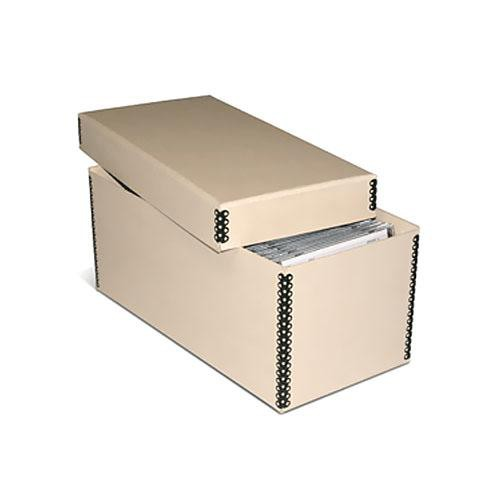 Print File Mecd55tan Tan Metal Edge Cd Dvd Storage Box 213