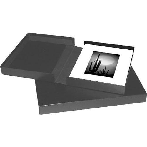 Print File 11x14 Clamshell Portfolio Box Black 210 5054