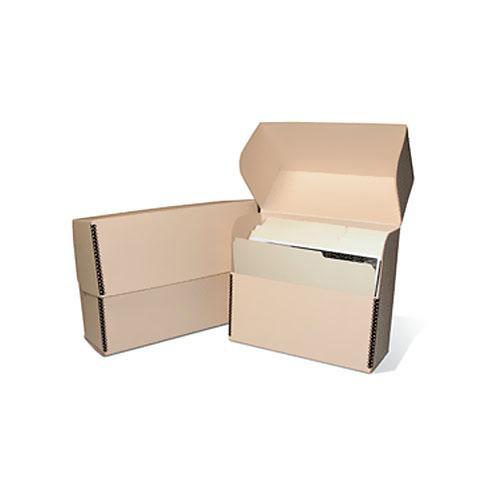 TDBLETTER Metal Edge Letter Size Document Storage Box (12 25 x 10 25 x 5