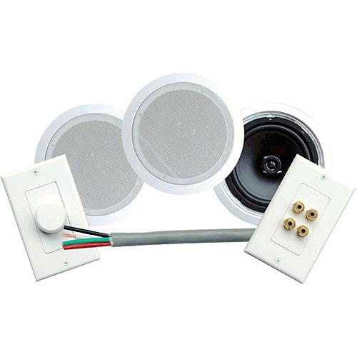 """Pyle Pro PHSKIT8 8"""" In-Ceiling Speaker System PHSKIT8 B&H"""