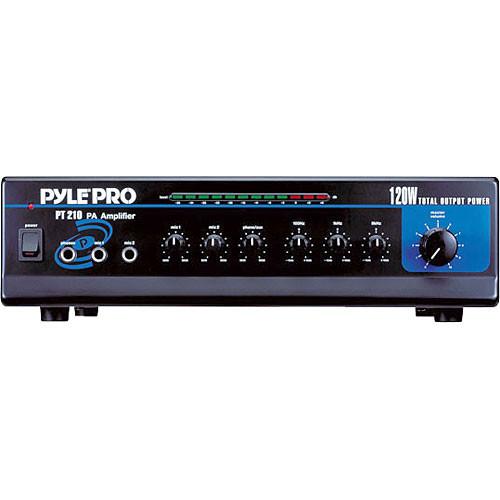 Pyle Pro Pt210 120w Pa Mixer  Amplifier Pt210 B U0026h Photo Video