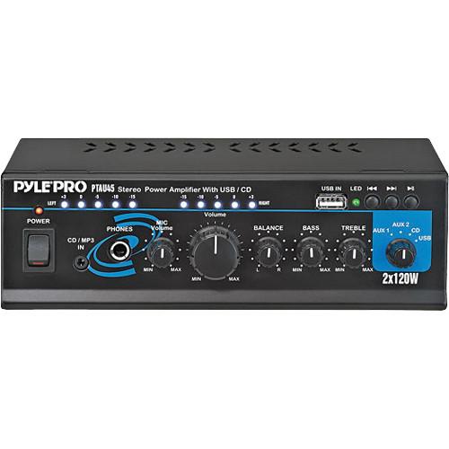 Pyle Pro Ptau45 Mini 120