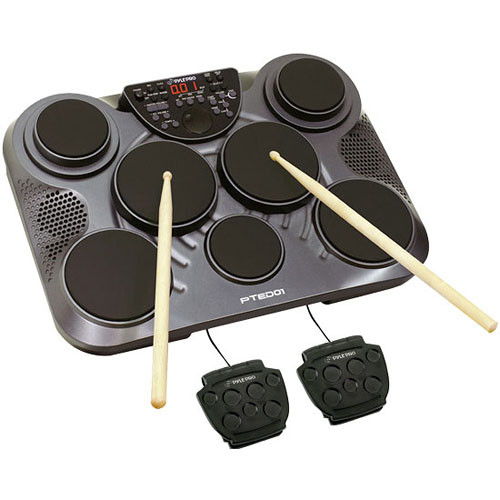 Pyle Pro PTED01 Electronic Table Top Drum Kit  sc 1 st  Bu0026H & Pyle Pro PTED01 Electronic Table Top Drum Kit PTED01 Bu0026H Photo