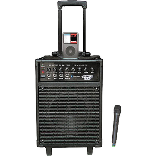 pyle pro pwma940bti portable pa system with wireless pwma940bti. Black Bedroom Furniture Sets. Home Design Ideas