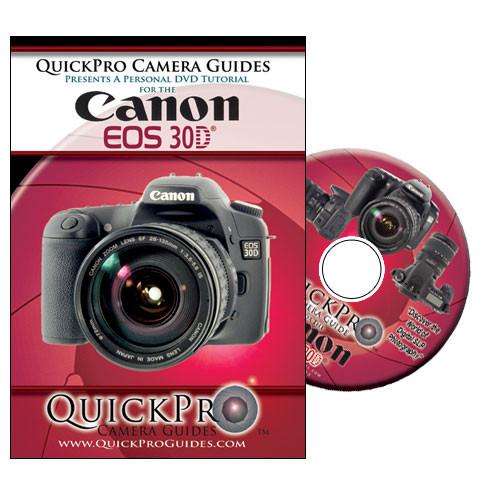 quickpro dvd canon eos 30d digital slr camera 1062 b h photo rh bhphotovideo com canon eos 30d manual portugues canon eos 30d manual español