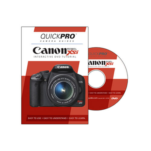 Quickpro dvd: canon eos rebel xsi tutorial 1222 b&h photo video.