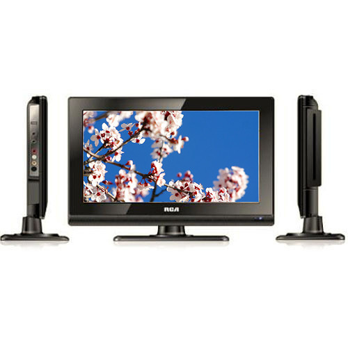 """RCA DECK13DR 13.3"""" LED TV With DVD Player DECK13DR B&H"""