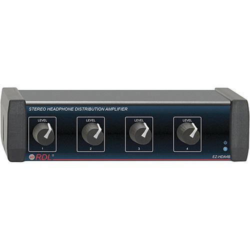 rdl ez hda4b 4 channel stereo headphone distribution ez hda4b. Black Bedroom Furniture Sets. Home Design Ideas