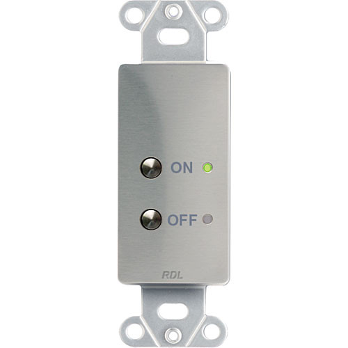 Rdl Rt2s Wall Mount Remote On Off Switch Stainless Steel