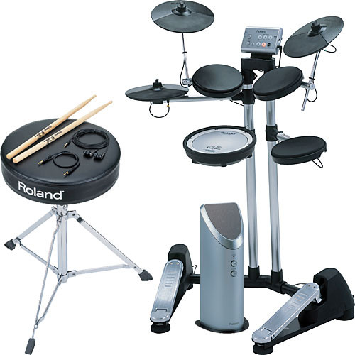 Roland Hd 1 V Drums Lite All In One Electronic Drum Kit
