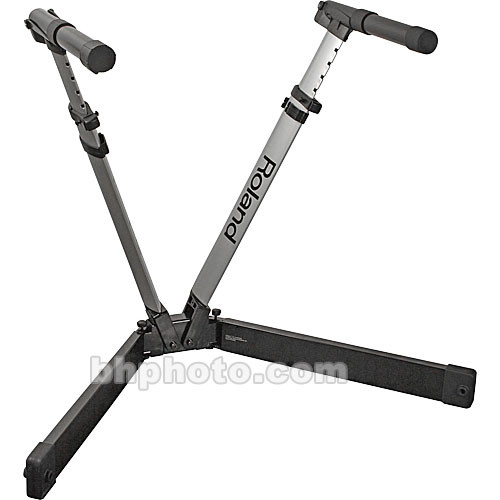 roland ks v7 v stand keyboard stand ks v7 b h photo video. Black Bedroom Furniture Sets. Home Design Ideas