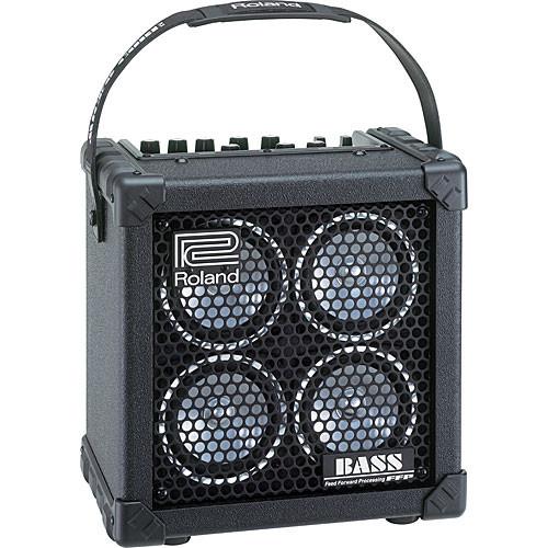 roland micro cube bass rx portable bass amplifier micro cb rx. Black Bedroom Furniture Sets. Home Design Ideas