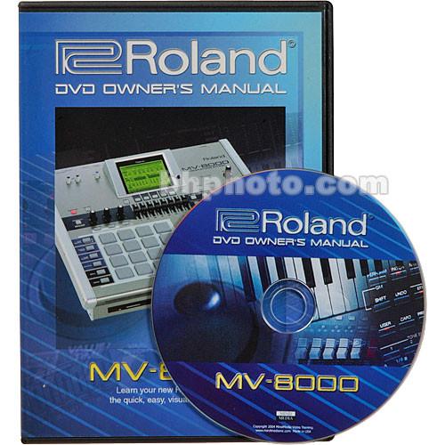 roland dvd owner s manual for mv 8000 midi mv 8000dvm b h rh bhphotovideo com owners manual midas m-200 freeport series owners manual midland garage door