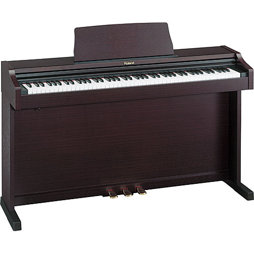 roland rp 101 pak 88 key upright digital piano pack rp 101 mh. Black Bedroom Furniture Sets. Home Design Ideas
