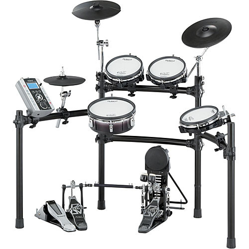 roland td 9sx professional drum kit with mesh heads and td 9sx. Black Bedroom Furniture Sets. Home Design Ideas