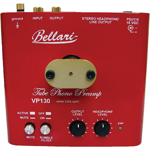 Rolls VP130 Tube Phono Preamp VP130 B&H Photo Video