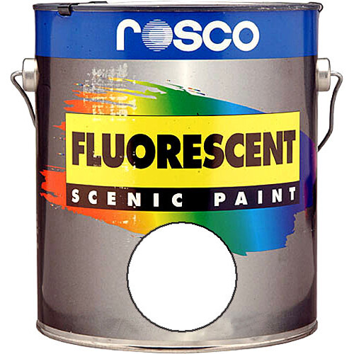 Rosco Fluorescent Paint White Matte 1 Gallon