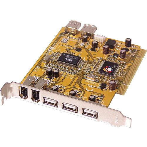 SIIG JU-NPC012 USB 2.0 and FireWire CardBus DV Kit