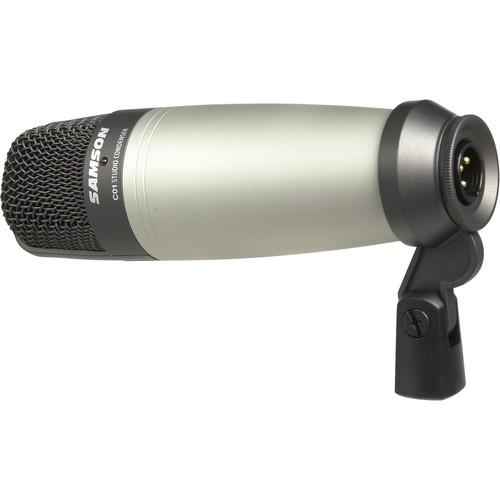 samson c01 large diaphragm condenser microphone sac01 b h photo. Black Bedroom Furniture Sets. Home Design Ideas