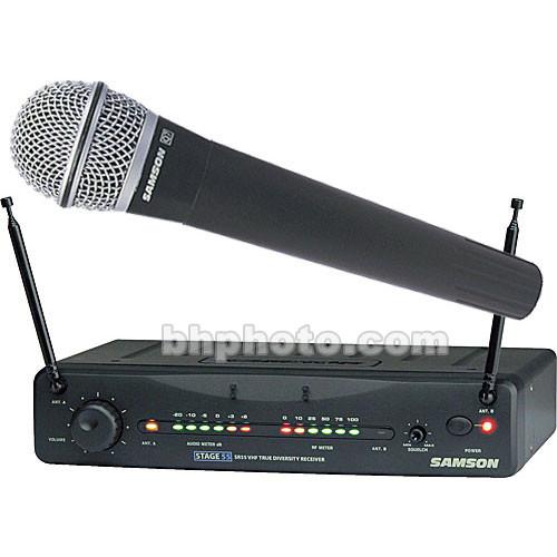 Samson Stage 55 Handheld Wireless Microphone Sw55vshq7