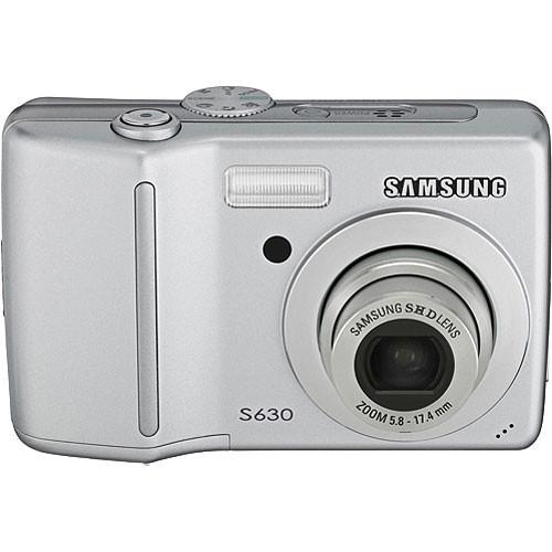 samsung s630 digital camera silver cj160201s b h photo video rh bhphotovideo com Samsung S630 USB Cable Samsung S630 Problems