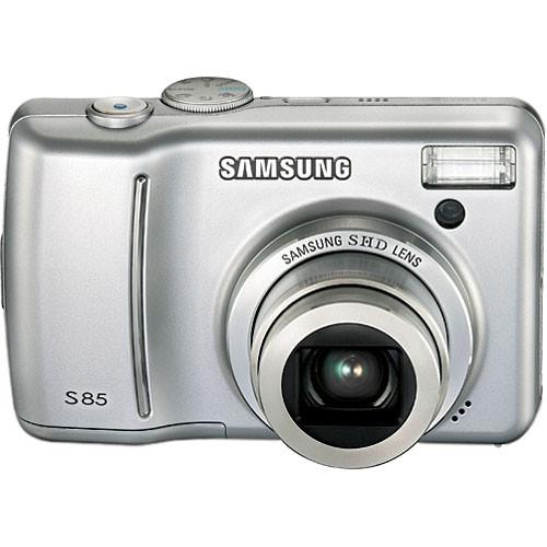 samsung s85 digital camera silver cj365201s b h photo video rh bhphotovideo com Samsung AC Adaptor samsung s85 manual pdf