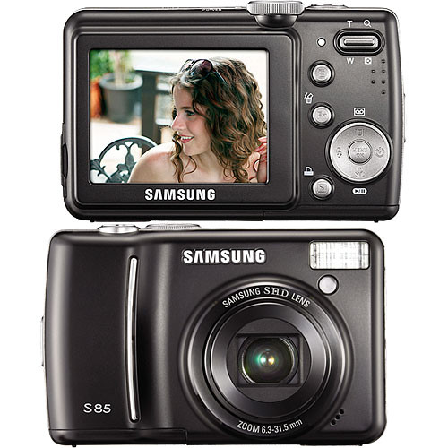 samsung s85 digital camera black cj365401s b h photo video rh bhphotovideo com samsung s85 manual pdf Samsung Camcorder Accessories