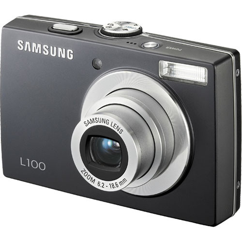 samsung l100 digital camera black ec l100zbba us b h photo rh bhphotovideo com Camera Camera Case for Samsung L100 Samsung L100 Camera Case