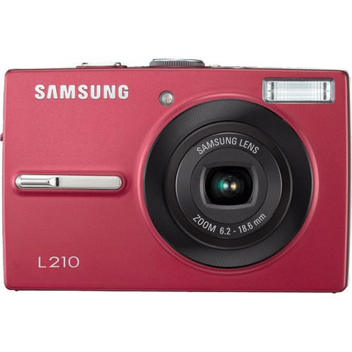 samsung l210 digital camera red ec l210zrba us b h photo video rh bhphotovideo com Samsung ST66 Digital Camera Manual Samsung Digital Camera Charger