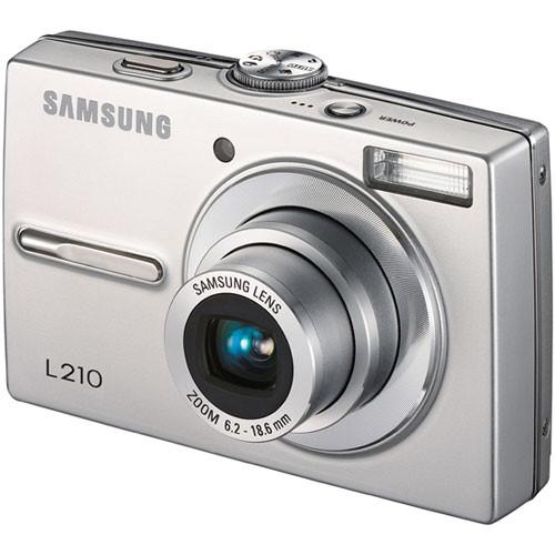 samsung l210 digital camera silver ec l210zsba us b h photo rh bhphotovideo com Samsung Digital Camera ManualsOnline Samsung Digimax 420 Digital Camera
