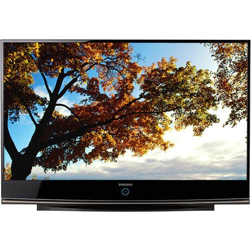 samsung hl61a750 61 widescreen dlp hdtv hl61a750a1fxza b h rh bhphotovideo com Dots On Samsung TV Samsung HL67A750