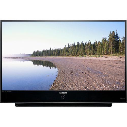 samsung hl t6187s 61 widescreen dlp hdtv hl t6187sax b h rh bhphotovideo com Samsung 61 Inch DLP TV Samsung 61 DLP 1080P TV