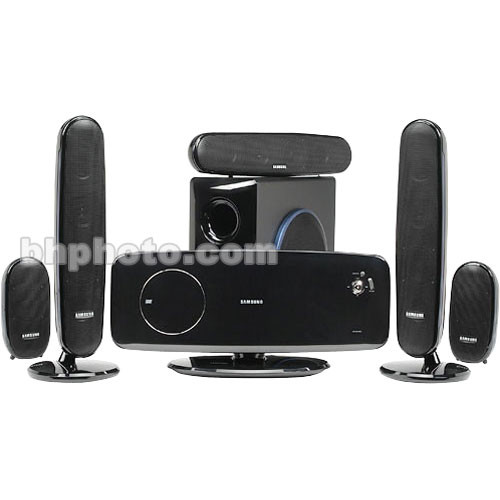 samsung ht xq100 5 1 home theater system htxq100 b h photo video. Black Bedroom Furniture Sets. Home Design Ideas