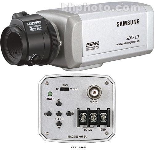 samsung sdc 415n 1 3 color surveillance camera sdc415n b h. Black Bedroom Furniture Sets. Home Design Ideas