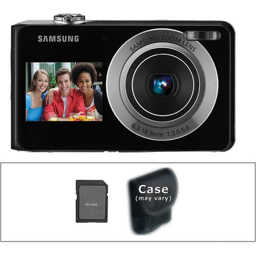 samsung tl205 dualview digital camera silver w accessory kit rh bhphotovideo com Samsung TL205 Charger Walmart Samsung TL205 Camera Charger