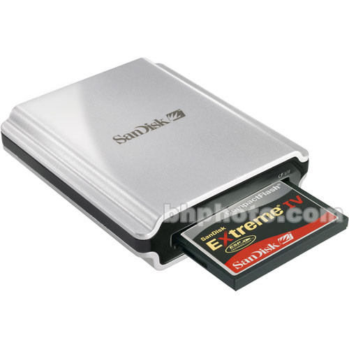 SanDisk 2GB Extreme IV UDMA CompactFlash Card With FireWire Reader