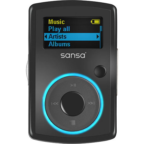 sandisk clip sport 4gb mp3 player manual