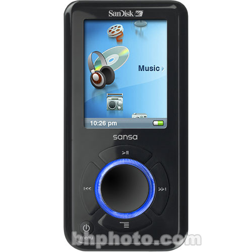 sandisk sansa e250 2gb portable digital music mp3 sdmx4 2048 a70 rh bhphotovideo com sansa e250 mp3 player manual Sansa E260