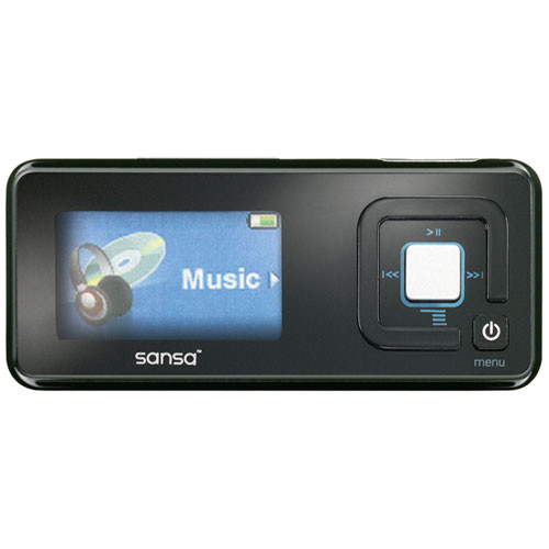 SanDisk Sansa c250 2GB Portable Digital Music MP3 SDMX7 ...