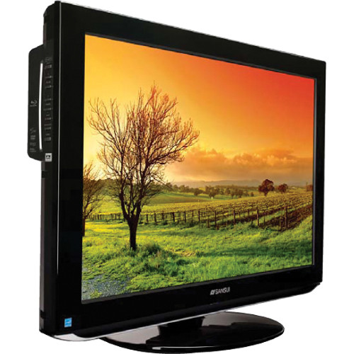sansui fhdbdp3209 32 1080p lcd tv blu ray fhdbdp3209 b h rh bhphotovideo com Sansui TV Won't Turn On Sansui 32 Inch Smart TV