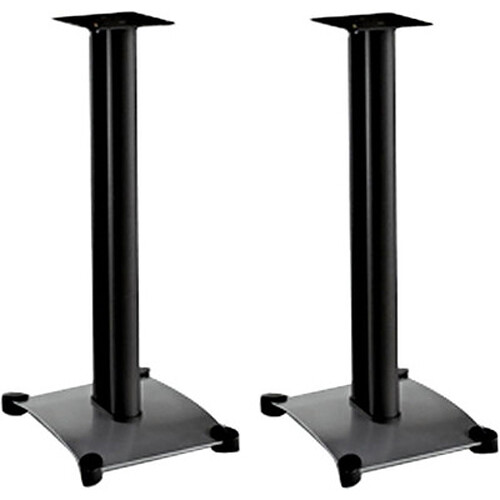 "sanus steel series 26"" bookshelf speaker stand sf26-b1 b&h"