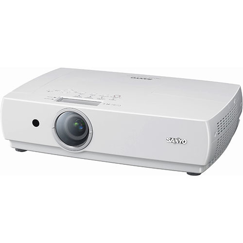 Sanyo plc xc55 ultra portable lcd projector plc xc55 b h photo for Portable lcd projector reviews